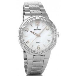 Festina Damen-Armbanduhr Analog Quarz Edelstahl F16703/1