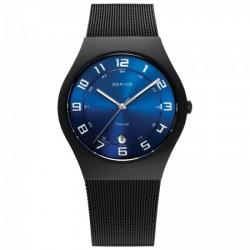 BERING Time Herren-Armbanduhr Titan Saphirglas Slim Classic (11937-227)