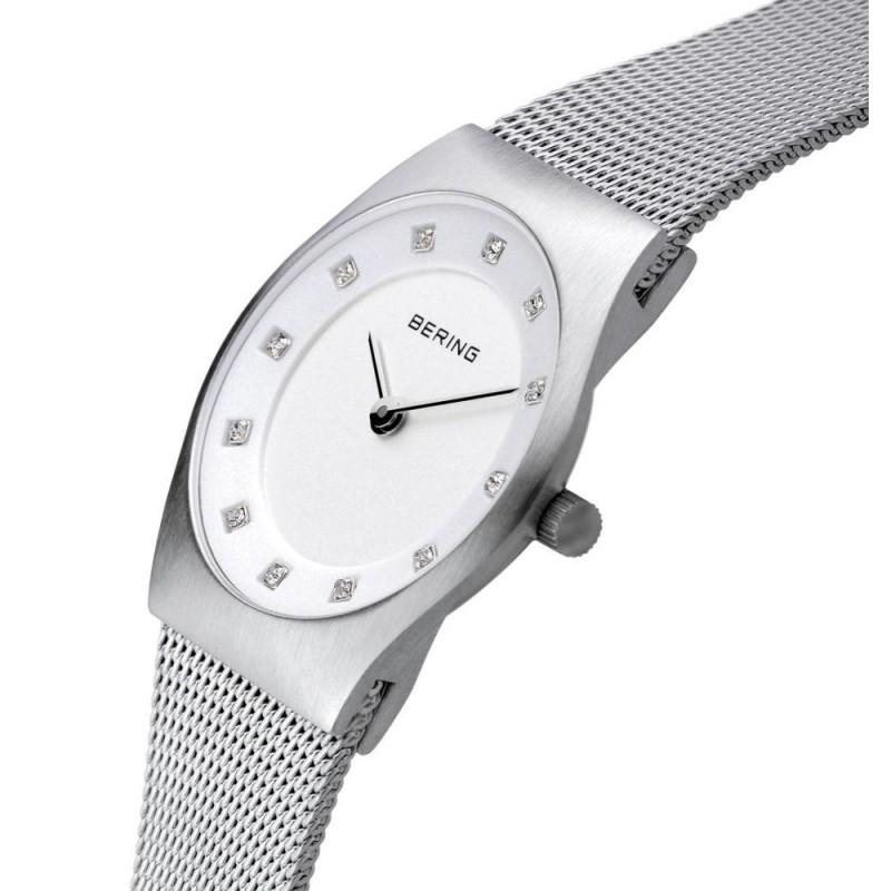 BERING Damen-Armbanduhr. Swarovski . Saphirglas. Slim Classic (11927-000)