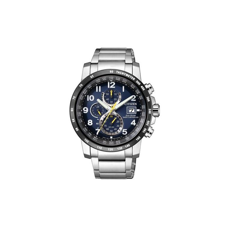 Citizen At8124 Chronograph Edelstahl Funkuhr Herren Eco Armbanduhr Solar Quarz 91l Drive KTlFJ1c