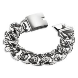 Save Brave Edelstahl Armband Herrenarmband 20,5cm (SBB-GEORGE)