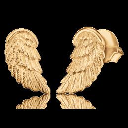 Engelsrufer Damen- Ohrstecker Flügel 925er SIlber vergoldet. (ERE-WING-STG)