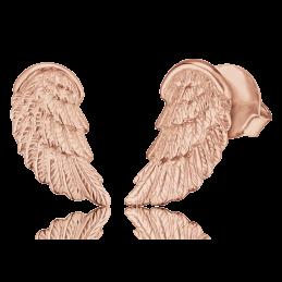 Engelsrufer Damen- Ohrstecker Flügel 925er SIlber rosevergoldet. (ERE-WING-STR)