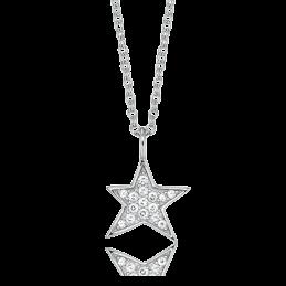 Engelsrufer Silberkette Stern mit Zirkonia (ERN-LILSTAR-ZI)