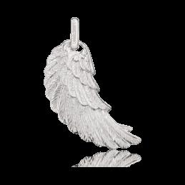 Engelsruger Silber Anhänger Flügel rhodiniert (ERW-L2)
