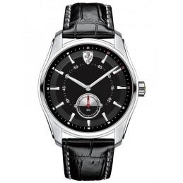 Ferrari Herren-Armbanduhr GTB_C Analog Quarz Leder (830231)
