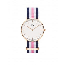 Daniel Wellington Damen-Armbanduhr Analog Quarz (One Size, weiß) DW00100034