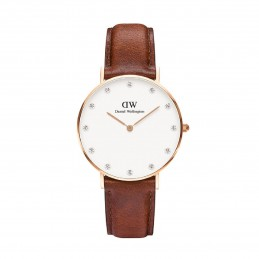 Daniel Wellington Damen-Armbanduhr Analog Quarz (One Size, weiß) 0950DW / DW00100075
