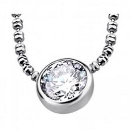 Lotus Schmuck 925K. Silber Halskette