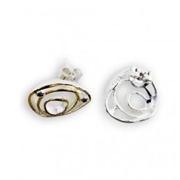 Ohrringe 925K Silber oder...