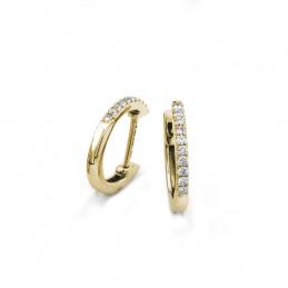 Diamantohrringe / Creolen...