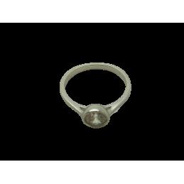 Solitär Ring Silber 925 mit...