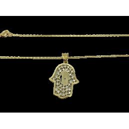 Kette Hand der Fatima Gold...
