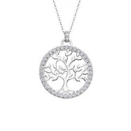 Lotus Silver Halskette-...
