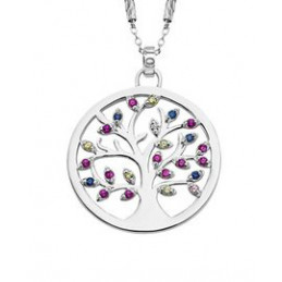 Lotus Silber Collier-...