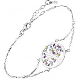 Lotus Silber Armband mit...