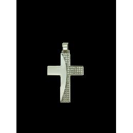 Kreuz AnhängerWeißgold 585...