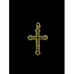 Kreuz Anhänger Gelbgold 750...