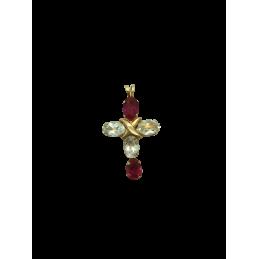 Kreuz Anhänger Rotgold 585...
