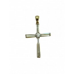 Kreuz Anhänger Gold 585...