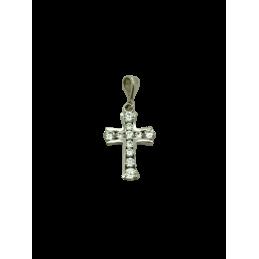 Kreuz Anhänger Weißgold 585...