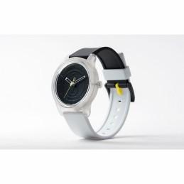 Q&Q Solar Unisex-Armbanduhr SmileSolar Analog Resin RP00J005Y